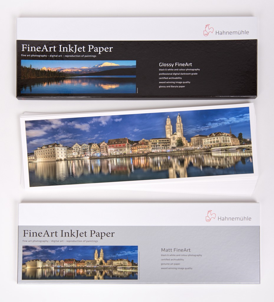 Hahnemühle Panoramic Photo Rag papers