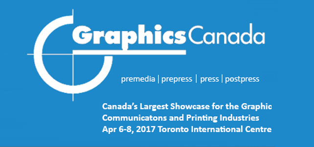 Free Admission to Graphics Canada 2017