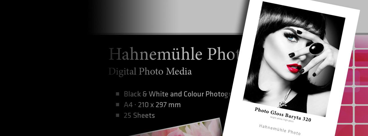 New: Hahnemühle Photo Gloss Baryta 320